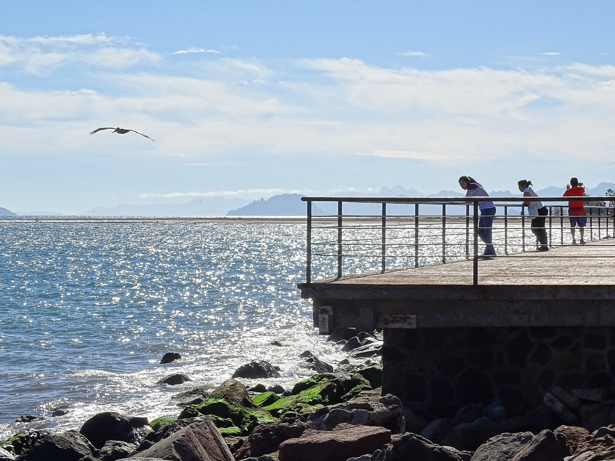 Malecón de Loreto Pueblo Mágico Baja California Sur