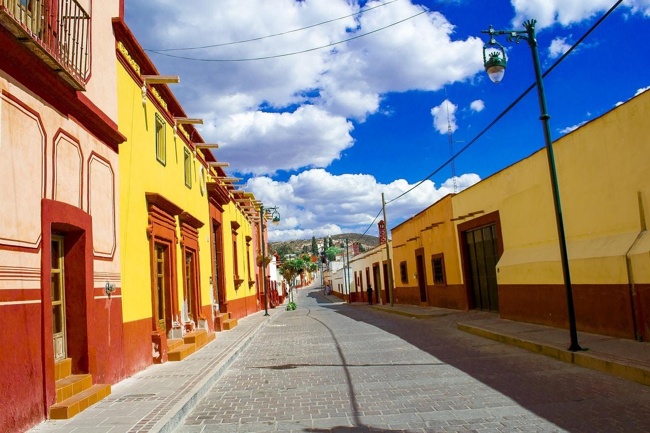 Estado de Tlaxcala Ciudad de Tlaxcala calle Pixabay