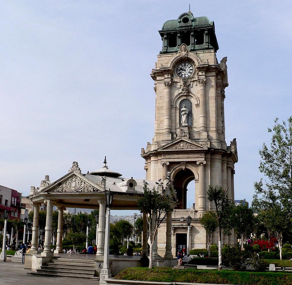 reloj monumental de Pachuca Hidalgo