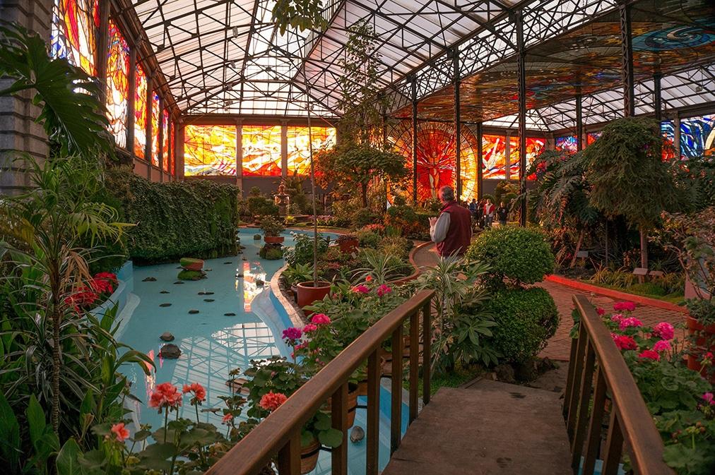 Cosmovitral Jardín Botánico Toluca Estado de México